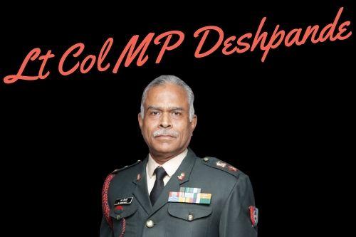 Lt Col MP Deshpande